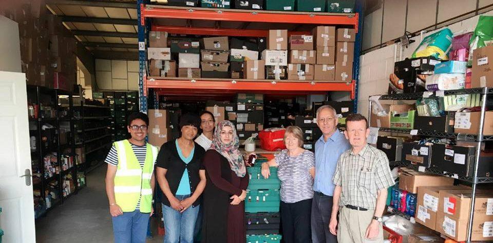 Lloyds Leagrave Staff Volunteer Luton Foodbank