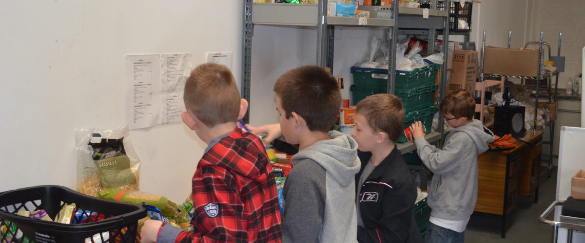 Chantry Primary Academy Pupils Visited Luton Foodbank