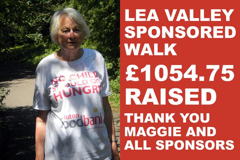 Lea Valley Sponsored Walk 8 13 Sep Luton Foodbank
